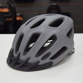 Шлем велосипедиста, цвет серый, регулируемый размер S/M